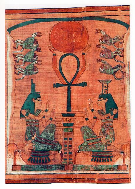 The ancient Egyptians worshipped the sun as the living manifestation of the creator and each person's higher Being. Their religion came from a more ancient source that once existed throughout much of the world.
